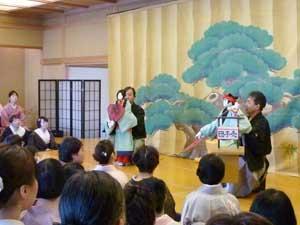 女正月の集い 第15回「人形で伝える江戸の粋『八王子車人形』 ~世界でも類まれな一人遣いの人形芝居~」
